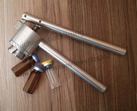 Free shipping 1 x 20mm Stainless Steel Manual Crimper Flip Off Caps Hand Sealing Machine Tool, 13mm is available also