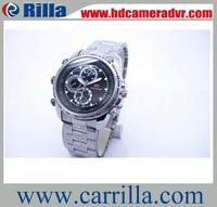 Free Shipping 1280*960P HD Waterproof DVR Hidden Camera Clock 30 fps (WR-02B)