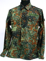 German Camo Woodland SWAT BDU Uniform Shirt Pants free ship
