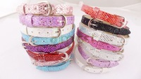 30pcs mix Imitation Leather Buckle Belt Bracelets style fit beads jewelry A1600