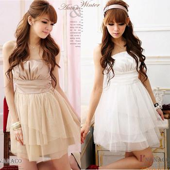 Fashion Elegant Solid Off Shoulder Slim Fit Girls Women Cocktail Party Dress Prom Lovely Women Mini Dresses  #L034121
