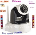 wholesale  HD 1MP IP Camera , H.264  Support  Android Windows mobile to monitor  2PC/LOT