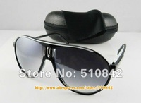 Женские солнцезащитные очки 1 pcs! Fashion Men's White Sport Sunglasses Brand Glasses plastic Sun glasses modelK001