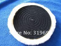 Free Shipping 2PCS/LOT 3M 6'' Knitting Wool Auto Polishing Pads Car Wool Polishing Balls Buffing Balls Tools Retail