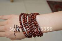 Wholesale Free Shipping for Sandalwood Beads Buddhist 4/5/6/8mm x 216 Prayer Bracelet Necklace Mala Buddha hot!