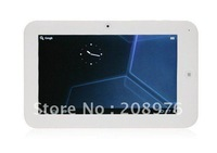 7 inch 800*480 Action 7013 Android 4.0 Tablet PC1.2GHz 512MB RAM 4GB Multi-touch capacitive screen WiFi free shipping