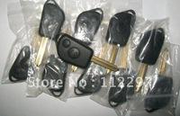 10pcs Entry Key Remote Fob Shell Case Uncut Blade for Citroen Saxo Xsara Picasso