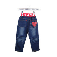 2012 child jeans spring pants trousers 5d-4 MICKEY jeans