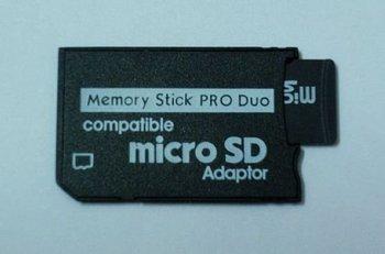 Free shipping Micro SD TF to Memory Stick MS Pro Duo Adapter,25pcs/lot