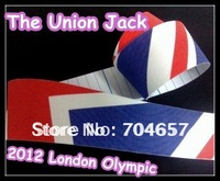 2012 Olympic kinesiology Kinesio Tape-10rolls/lot, 5CM*5M, 2012 London Olympic ( the Union Jack /Flag of the United Kingdom)