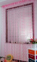 Heart Tassel String Door Curtain Door Hanging - Pink
