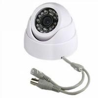 420TVL Sharp CCD 24LED IR CCTV Indoor White Security Camera 20pcs/lot Best quality