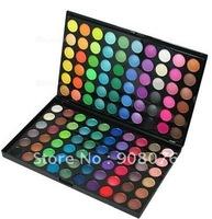 Best selling!! 120 color eyeshadow makeup palette powder matte pearl metal eye shadow 1SET Free shipping
