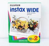Free Shipping Fuji instax210 wide white edge film 5x (10X2)pcs/pack
