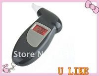 Digital lcd display alcohol tester Breath tester & timer with flashlight breath alcohol analyzer Free Shipping