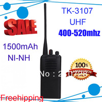 Free Shipping!!!Portable UHF 400-520MHZ TK 3107 2-Way Radio TK-3107