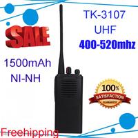 5pcs/lot DHL Free Shipping Portable 2-Way Radio TK-3107 UHF 400-520MHz walkie talkieTK3107