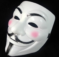 free shipping 2012 50pc/lot Vendetta party  Halloween Mask Party Face  Halloween Super Scary