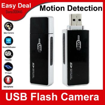 U9 Mini U Disk Style USB Flash Hidden Camera Mini DVR With Motion Detection Wireless Security Camera Free Shipping
