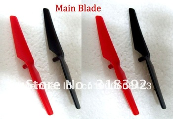 Main Blade 4pcs Spare Parts for WL V929 4CH 2.4GHZ RC Helicopter Free Shipping 1set/lot wholesale hot sale