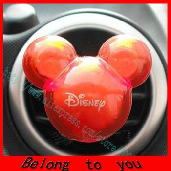 20 sets=40pcs/lot Free shipping cartoon car perfume air fresher car decoration