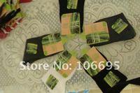 5 pairs / lot Bamboo Fiber Socks Men's Socks Black  Free shipping