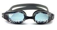 2012 Free shipping-fashion swimming goggles/Antifogging swimming glasses for the myopia adult