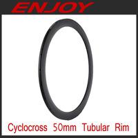 Carbon cyclocross 50mm tubular rims, 700c xc bike