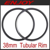 700C carbon road  bicycle rims 38mm tubular
