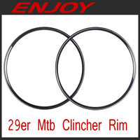 Full carbon 29er mtb clincher rims, model ECM29C, free shipping~!!!