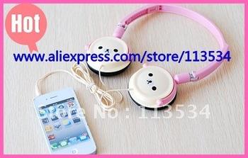 Cartoon Headphone, Super Bass Computer Headset , Smart Headphone for Iphone, Headphone for Ipad, Rilakkuma Earphone