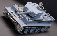1:16 RC Germany Tiger with Sound / Smoke / Metal Belt / metal gear box & metal wheel /  3818-1 Upgrade version