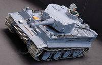 1:16 RC Germany Tiger with Sound / Smoke / Metal Belt / metal gear box & metal wheel /  3818-1 Upgrade version