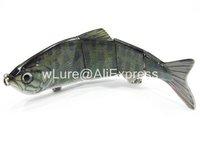 Fishing Lure 4 Segment 1 1/6 oz Swimbait Crankbait Hard Bait Fresh Water Bass Walleye Crappie HS4 Fishing Tackle HS4X353