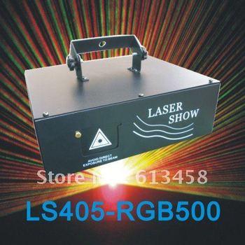RGB500 Animation Laser Disco Light with 25K Scanner&ILDA FREE FAST SHIPPING