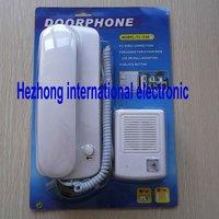 Audio door phone /  Intercom Security System with unlocking function