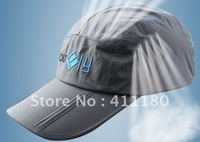 2012 fashion outdoor cap waterproof long bill hat free shipping 10pcs/lot