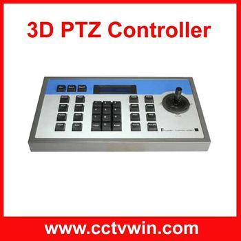 3D ptz intelligent controller,3d speed dome keyboard,ptz keyboard controller