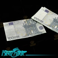 Flash paper-hundred Euro bill 10 pcs-king magic trick/magia/magie