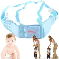 Free shipping Baby Care Item Soft Toddler Walking Assistant Safety Harness Kid Keeper Guard Strap Belt - Blue -205092