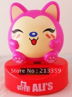 Free shipping for Lucky Cat Chubby Nohohon Solar ECO