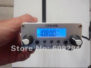 CZH-05B broadcast fm radio transmitter kit with Black/Silvery fm radio transmitter, FREE Shipping
