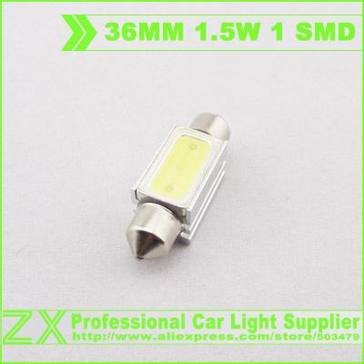 10pcs/lot 1.5w High Power Bright Car LED Bulbs Interior DE3425 Festoon Lamp Dome/Map Light Car Auto 36mm festoon Led(China (Mainland))