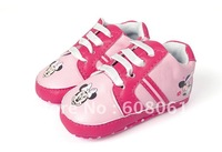 Free shipping baby sport shoe girl pink shoes -00795