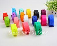 Wholesale - New Arrival Adult Fashion Silicone Belt New Style Fashion Candy Color Belt 3.5CM 50 pcs/lot