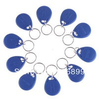 2014 Sale Promotion Freeshipping Rfid Card 100pcs 125khz Rfid Proximity Id Card Token Tags Key Keyfobs Access Control Use Blue