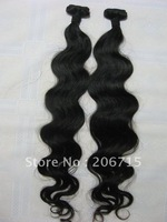 "Loks hair:retail:virgin remy Indian hair weft, Body wave,8""-34"" about 3.5oz/pcs"