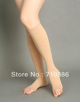 Free shipping Medical elastic stockings &Compress Stockings Knee High 20-30 mmHg Varicose socks open toe MC-2001