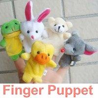 10Pcs Cartoon Animal Finger Puppet,Finger Toy,Finger Doll,Baby Dolls,Baby Toys,Animal Doll FSFSAWB