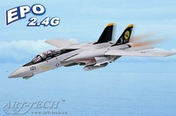 Art-tech F-14 PNP 6CH Jet plane electric ducted fan model RC airplane aircraft R/C gift(China (Mainland))